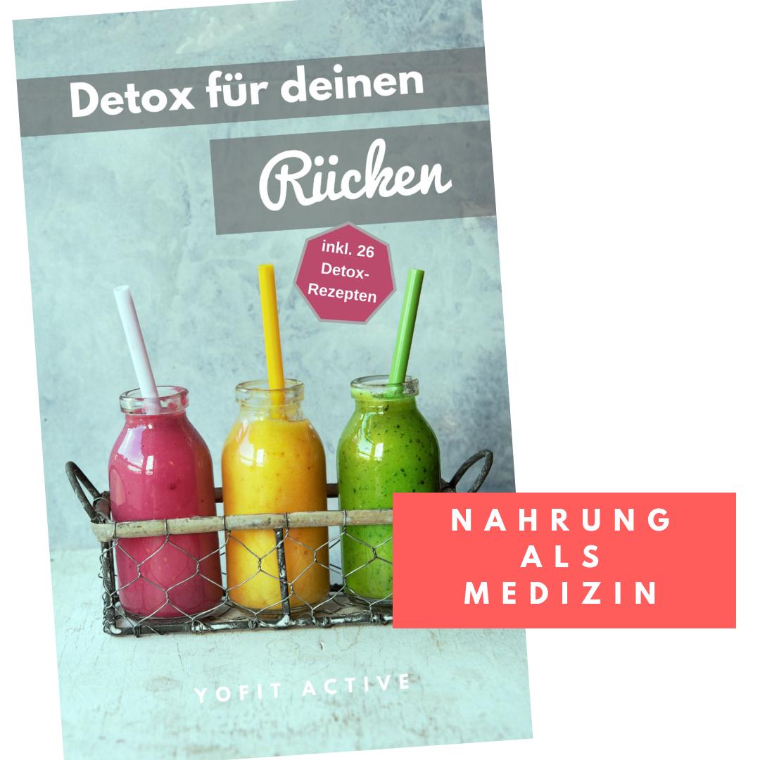 E-Book Detox für deinen Rücken